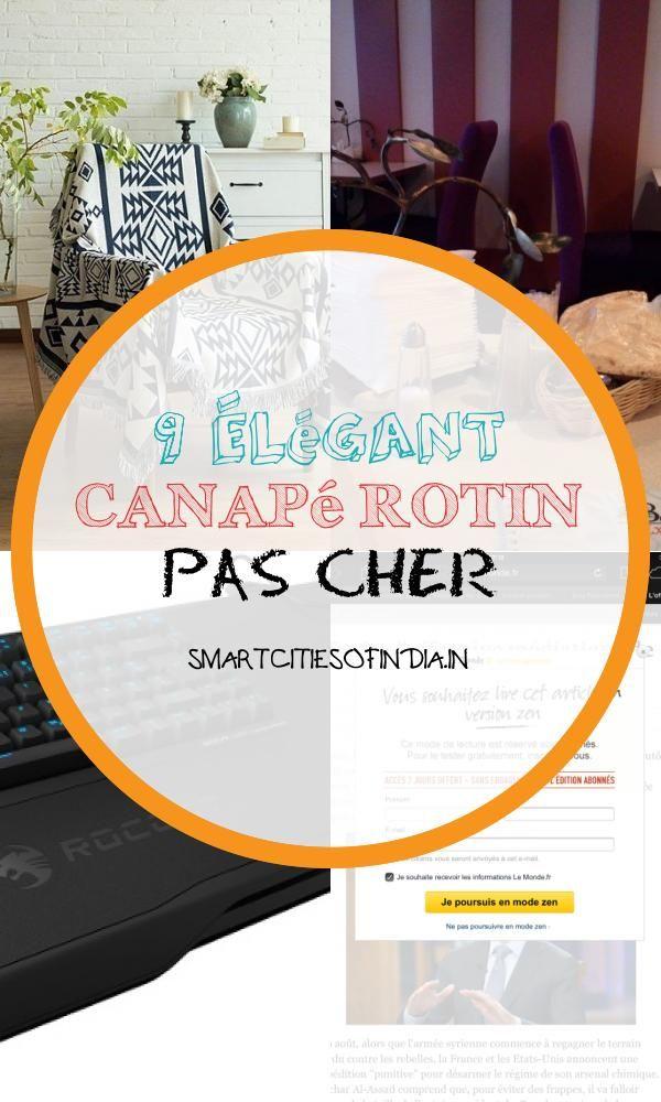 9 Elegant Canape Rotin Pas Cher En 2020 Canape Rotin Rotin Salon Rotin