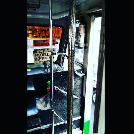 Microbus a Città del Messico