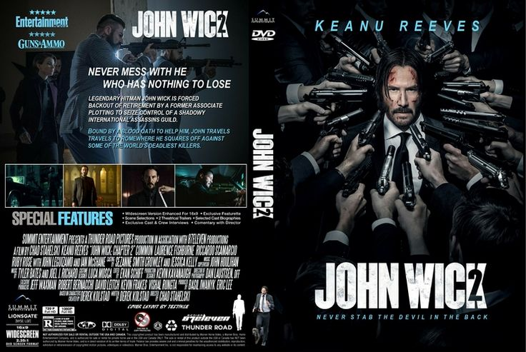 John Wick: Chapter 2 Custom DVD Cover
