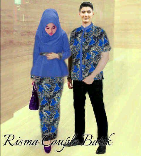 Gamis couple batik online