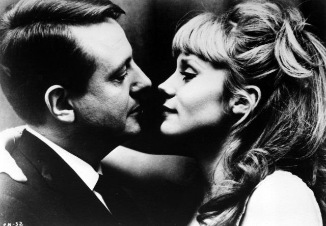 Jean Desailly and Françoise Dorléac- 1964's The Soft Skin