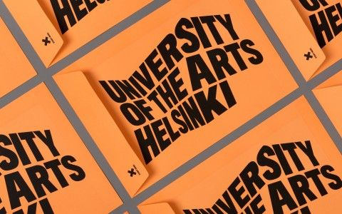 University of the Arts Helsinki - branding - BOND