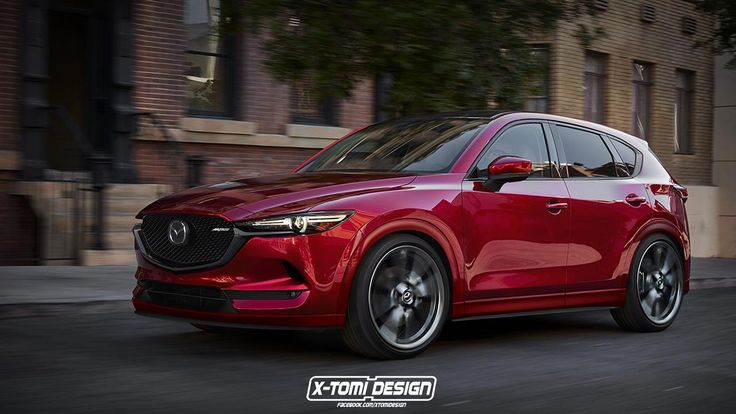 X-Tomi's rendering of the latest CX-5 Mazda Performance Series is simply stunning