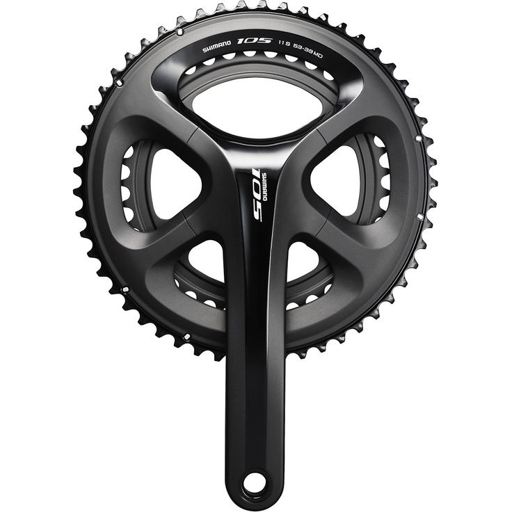 Shimano 105 5800 11 Speed Chainset - Black