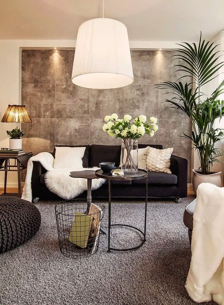 architectural design traditionally decorated gray and white living room