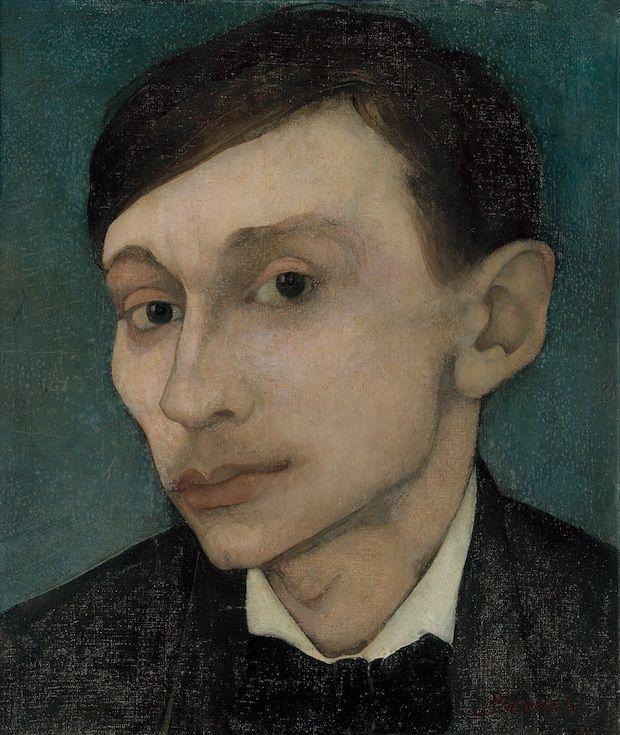 Ongekamde gedachten bij de zelfportretten van Jan Mankes - de Moanne