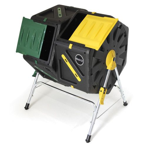 Found it at Wayfair Supply - Miracle-Gro Dual Chamber Tumbling Composter