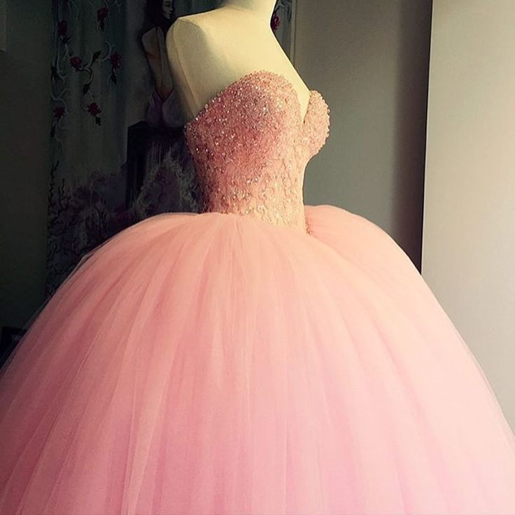 Pink Princess Ball Gown