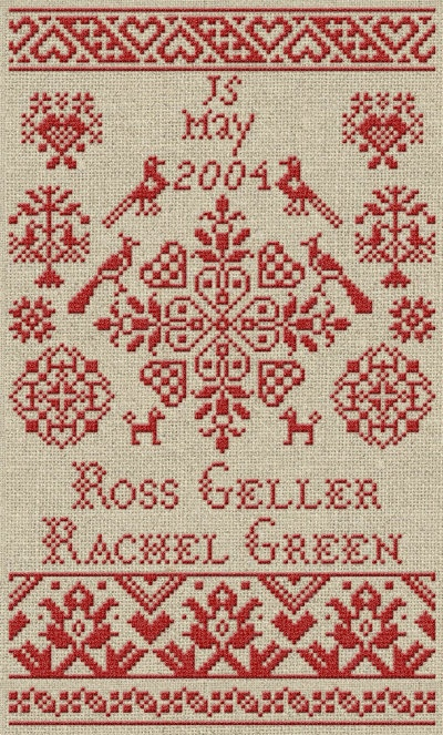 Custom Wedding Sampler - PDF Pattern. $17.00, via Etsy.