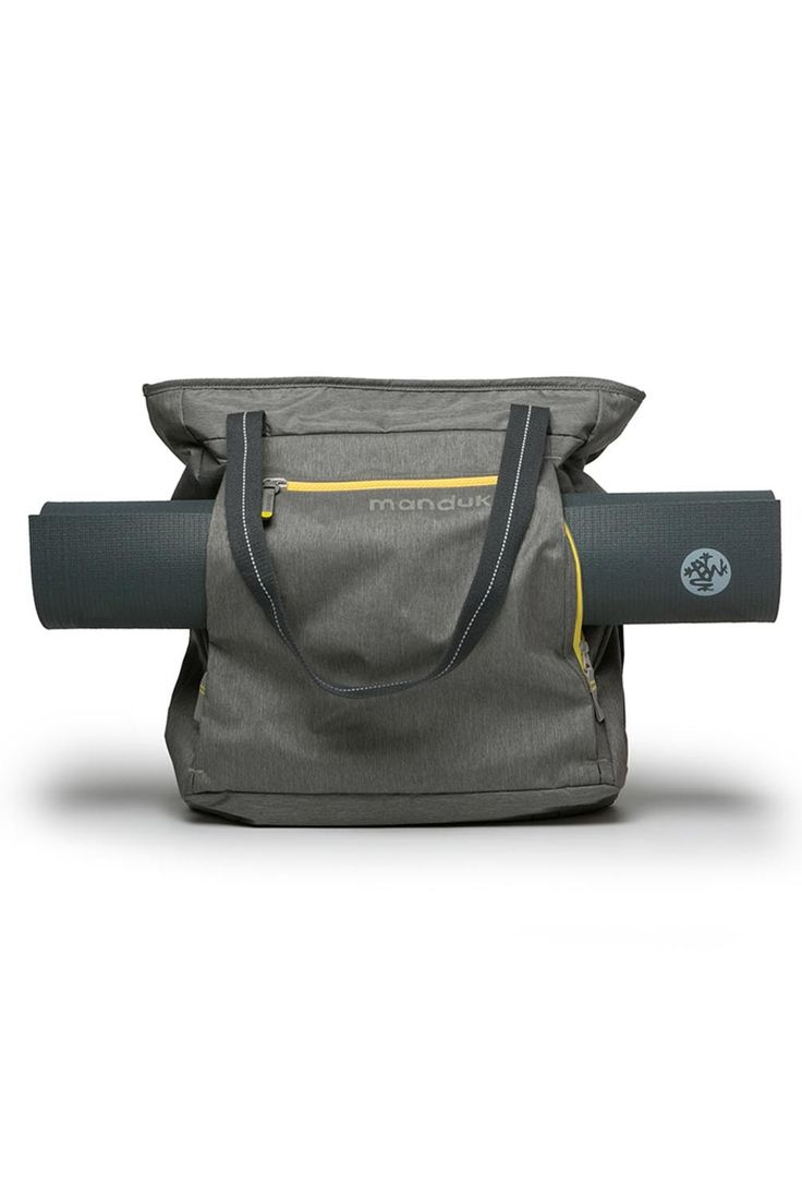 Manduka Go Ready Yoga Mat Tote Bag in Pewter