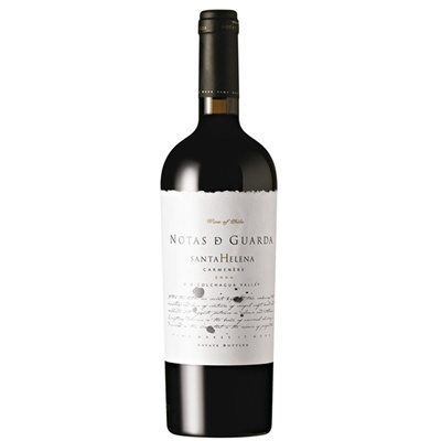 Vinho Santa Helena Notas de Guarda Carmenere