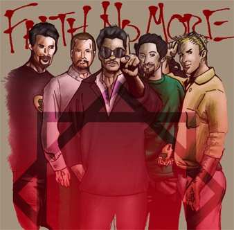Faith No More ´95 (2009) Ink + Digital Painting