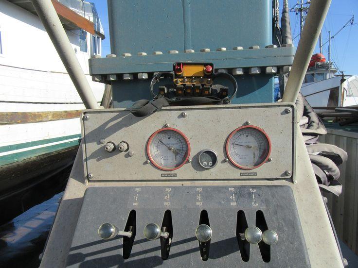 200 Ton Control Panel