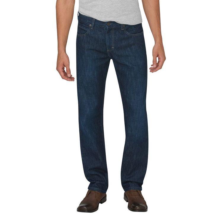 Men's Dickies Regular-Fit Straight-Leg Jeans, Size: 40X30, Blue