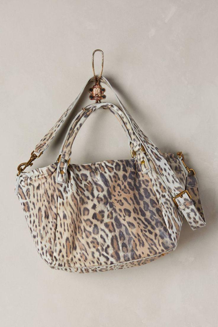 Amanda Leopard Shoulder Bag by Liebeskind #anthrofave