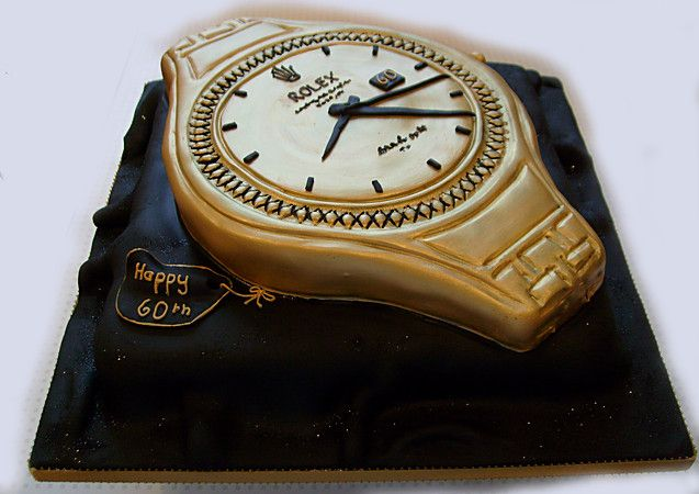 Wrist Watch Cake Birthday Cakes For Men 2 Pinterest
