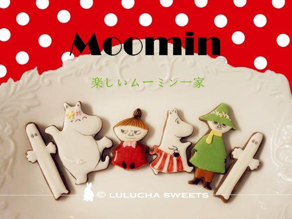 moomin royal icing cookies