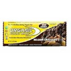 Organic Food Bar Belg Cchip Bar (12x2.4OZ )