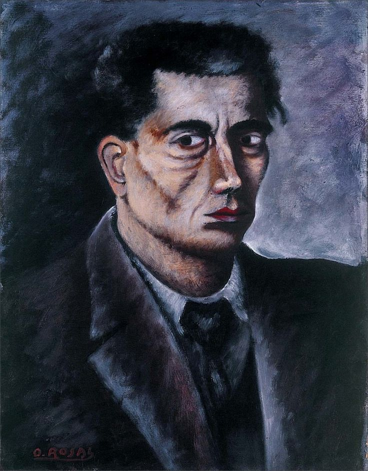 Ottone Rosai · Self Portrait · 1933 · Unknown location