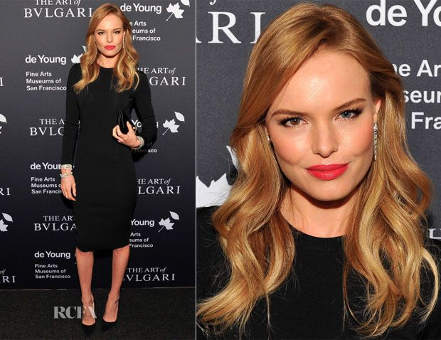 Kate Bosworth In Stella McCartney – Bvlgari Retrospective Opening