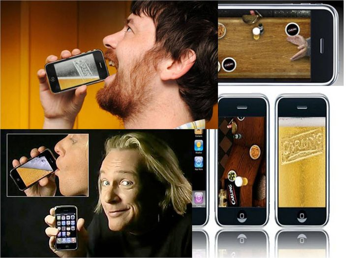 iPint  is a free beer-based game for the iPhone or iPod Touch that lets you play a mini-game and drink a virtual pint of beer.