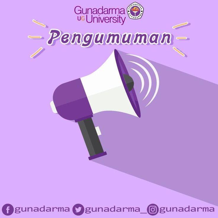 Sehubungan dengan Pilkada DKI Jakarta, maka seluruh kegiatan Civitas Akademika Universitas Gunadarma akan diliburkan pada Rabu, 19 April 2017.