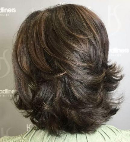 68+ Ideas haircut medium length layers thin hair #hair #haircut