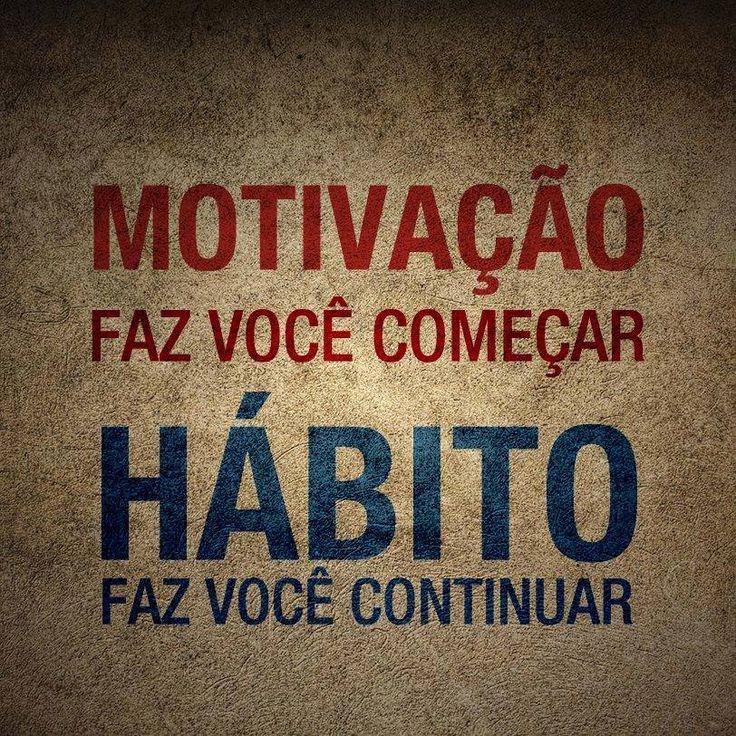 motivação x hábito