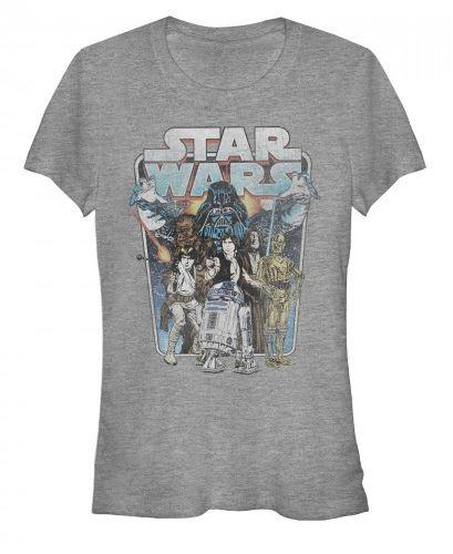 Star Wars: Darth Vader Attacks Juniors T-Shirt