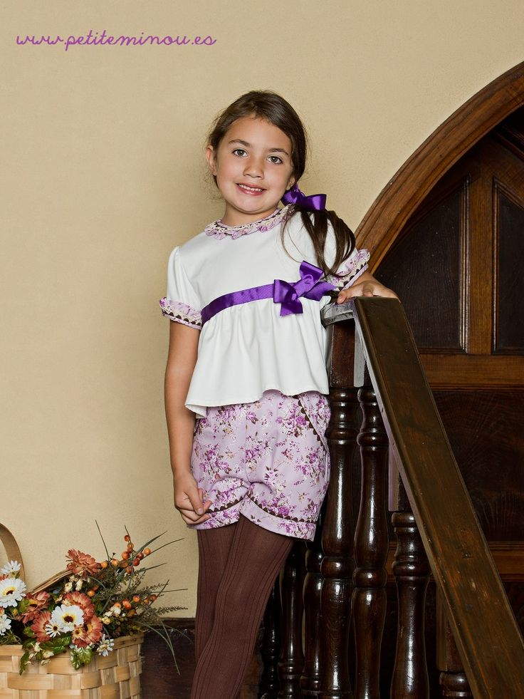 Blusa y Pantalon niña Dorabella