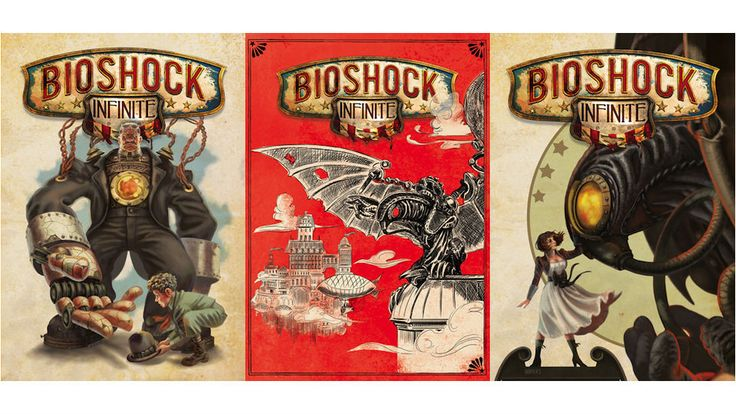 Possible alternate covers for Bioshock: Infinite