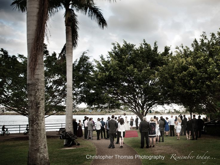 Brisbane Wedding Photographer Eves On The River Christopher Thomas Photography Ceremony