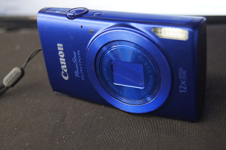 Canon PowerShot ELPH 170 IS  20.0 MP Digital Camera - Blue