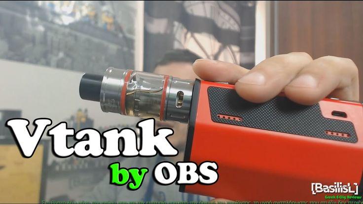 Vtank by OBS - BasilisL (Greek ecig Reviews)