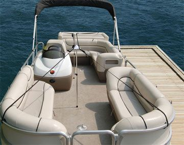 Pontoon Boat Cover Support System