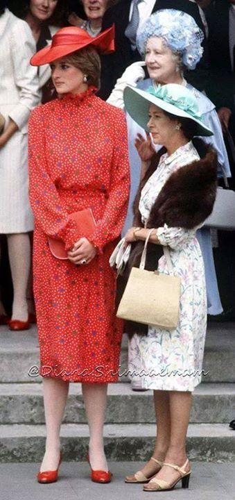 June 4, 1981: Lady Diana Spencer was a guest at the wedding of hon. Nicholas Soames to the Hon. Catherine Weatherall.