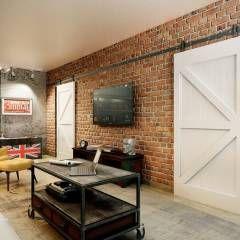 Salas de estar industriais por CO:interior