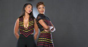 Robe wax, jupe wax, combinaison wax, composent la nouvelle collection Heritage de By Natacha Baco