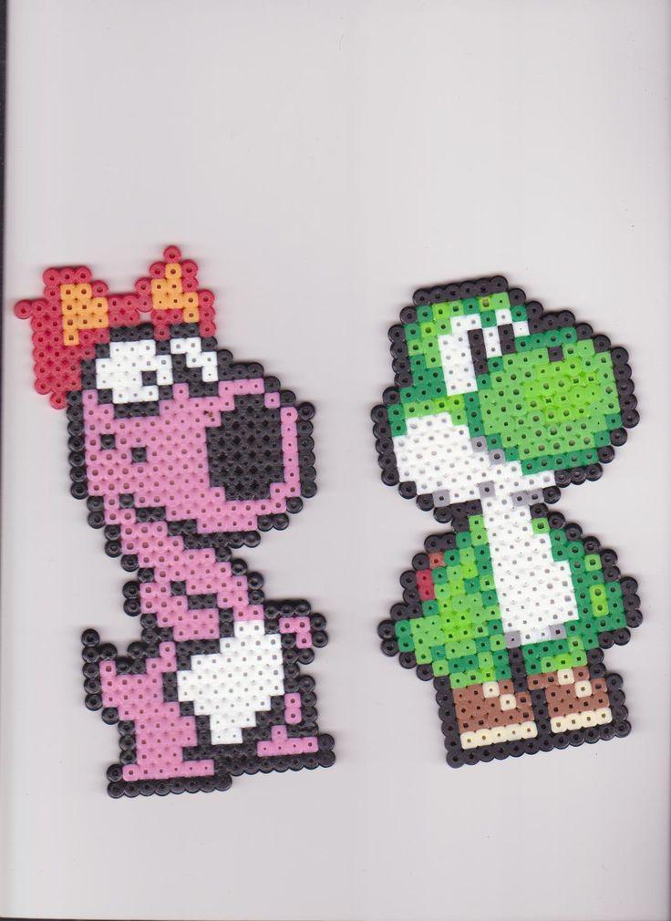 73 best Perler Yoshi images on Pinterest | Yoshi, Perler beads and ...