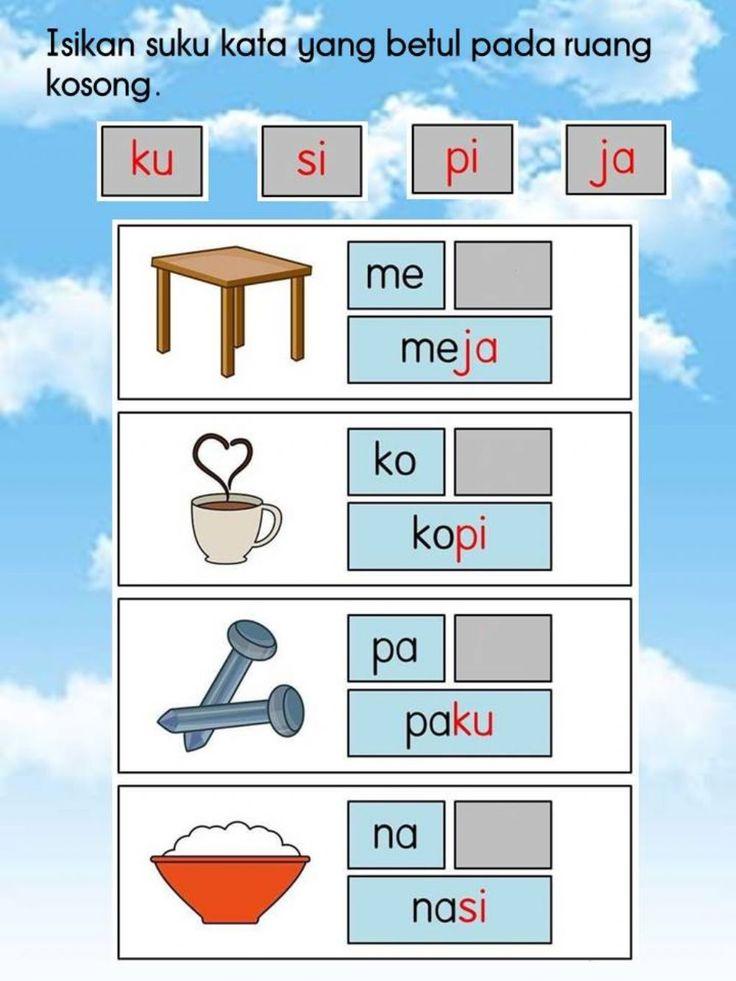 Suku Kata Kvkv Interactive Worksheet School Kids Activities Alphabet Worksheets Kindergarten Letter Worksheets For Preschool Kindergarten literacy activities online
