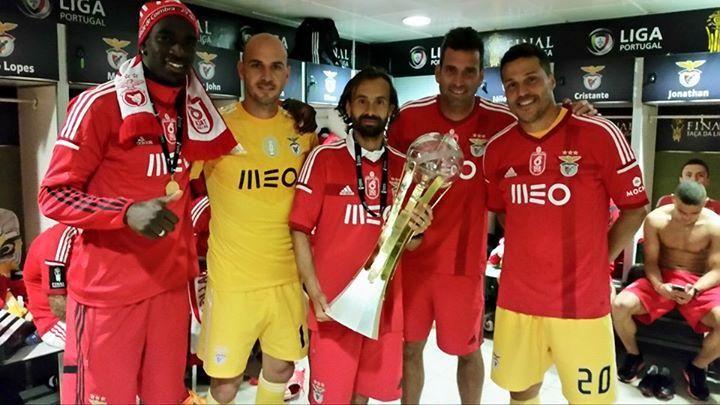 Bruno Varela, Paulo Lopes, Hugo Oliveira, Artur Moraes e Júlio César.