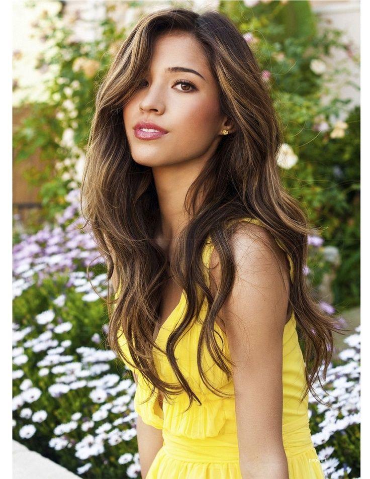 Kelsey Chow // Long // Brunette // Wavy // Caramel // Light Brown // Hazelnut // Long Layers