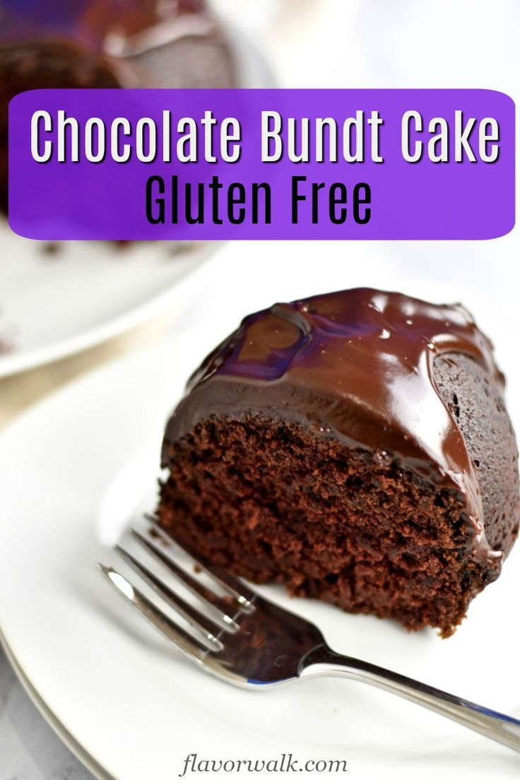 This Gluten Free Chocolate Sour Cream Bundt Cake Is Rich Dense And Topped With A Fudg Gluten Free Bundt Cake Gluten Free Chocolate Best Gluten Free Desserts
