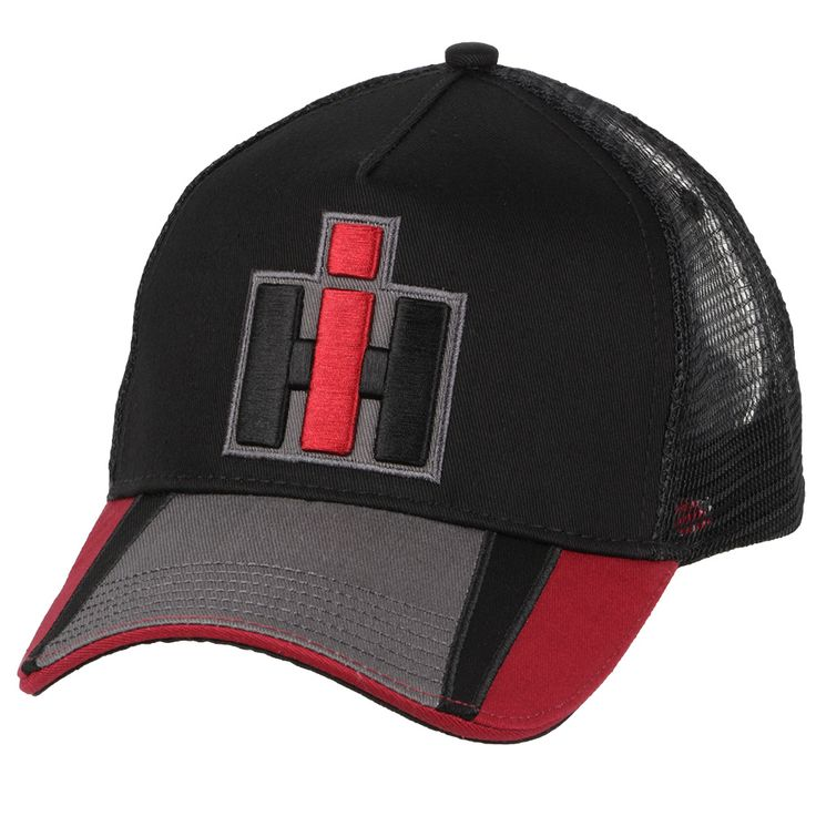 Ih Tri Color Brim Embroidered Hat With Images Embroidered Hats Hats Embroidered