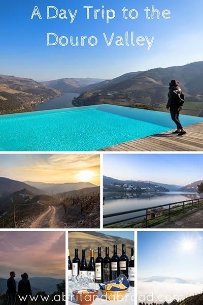 Just a short two-hour drive from Porto is the Douro Valley, one of the most beautiful wine regions in the world and absolutely perfect for a day trip!