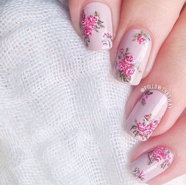 The 115 best ♢Shabby Chic Nails♢ images on Pinterest   Nail ...
