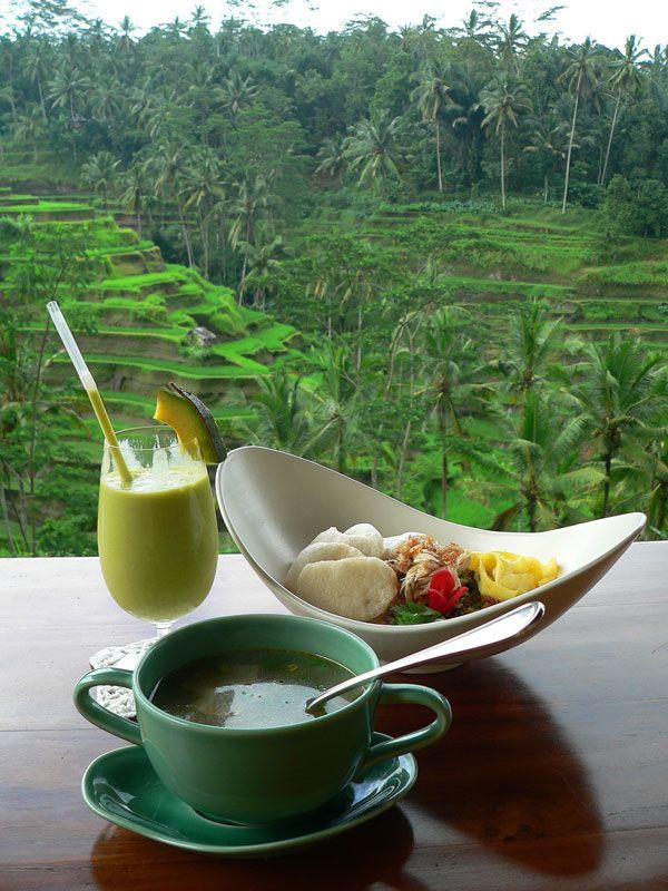 Lunchtime in Bali - Ubud, Bali