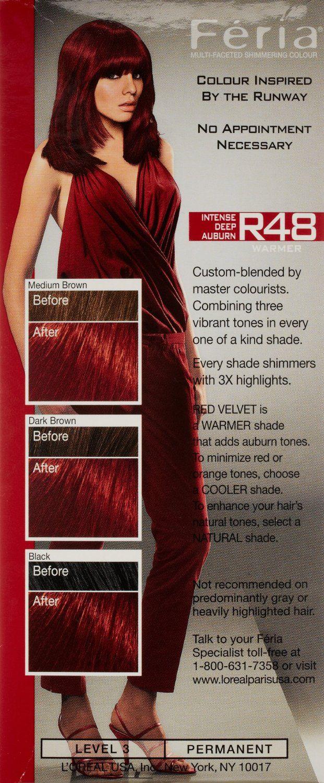 57 Revlon Colorsilk Hair Color Shades