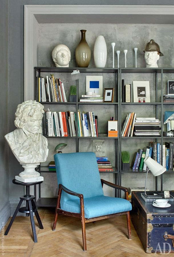 GREY | BOOKSHELVES | DESIGNER: A3