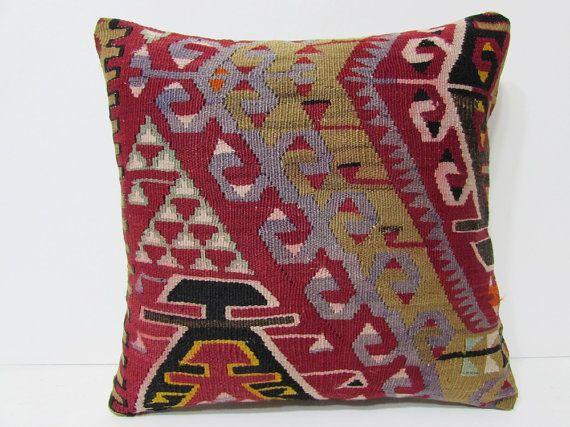 bohemian cushion 18x18 designer pillow shabby chic decor lake house decor kilim pillowcase bedroom designs big couch pillow kilim rug 23440